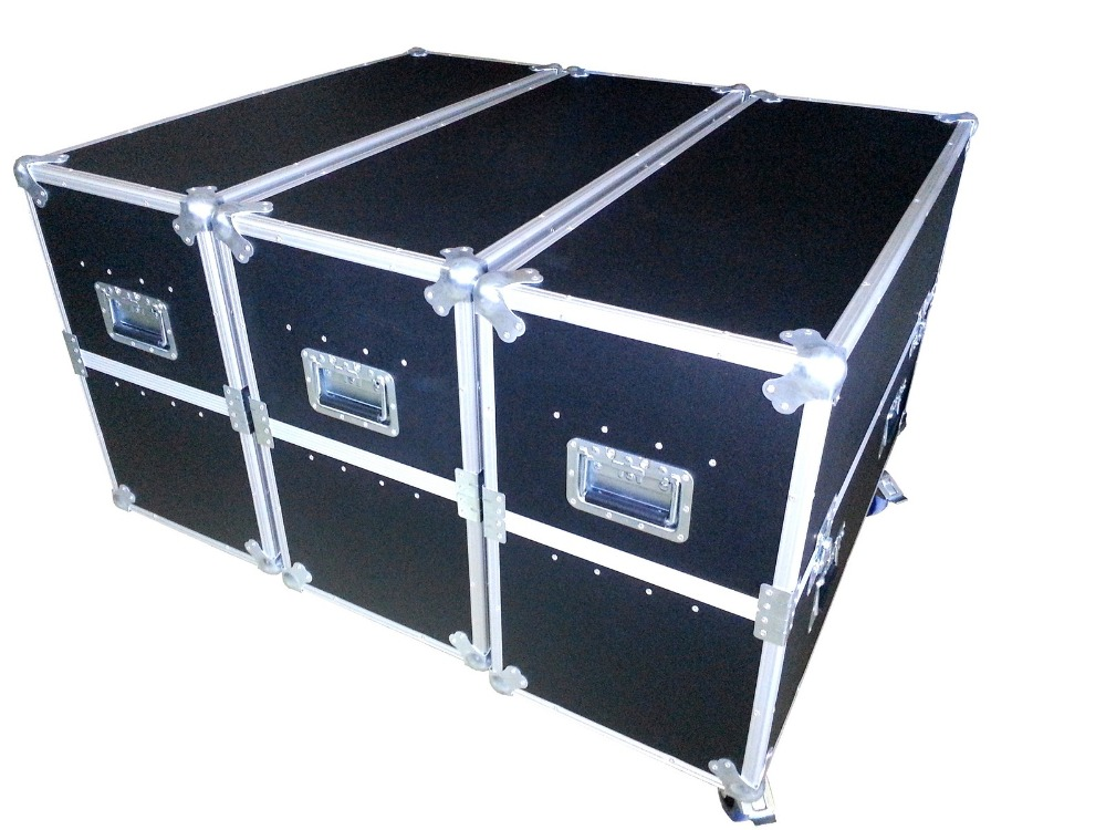 Flight case package for rental cabinet P2.5/P3/P3.91/P4/P4.81/P5/P6/P8/P10, 6pcs or 8 pcs cabinets in 1pcs flight caseFlight case package for rental cabinet P2.5/P3/P3.91/P4/P4.81/P5/P6/P8/P10, 6pcs or 8 pcs cabinets in 1pcs flight case