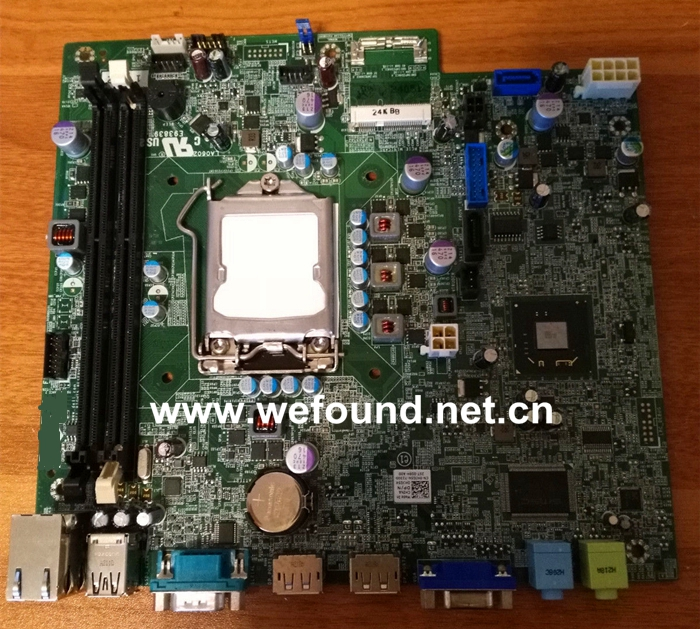 Desktop Motherboard For 0HJG5K HJG5K LGA1155 System Board Fully Tested high quality desktop motherboard for 580