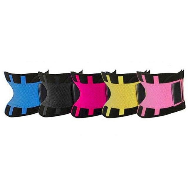 Womens Shaper Unisex Waist Cincher Trimmer Tummy Slimming Belt Body Shapers Latex Waist Trainer Woman Postpartum Corset Shaper 2