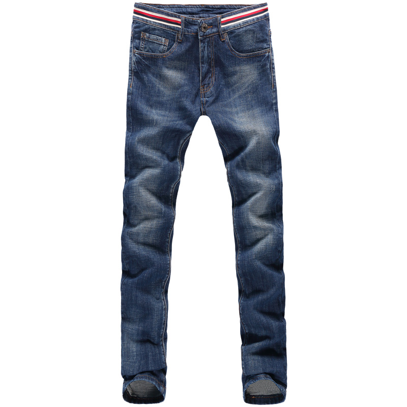 ФОТО 2016 new men's Fine quality classic jeans men's clothing trend trousers male casual trousers Large size 28-38
