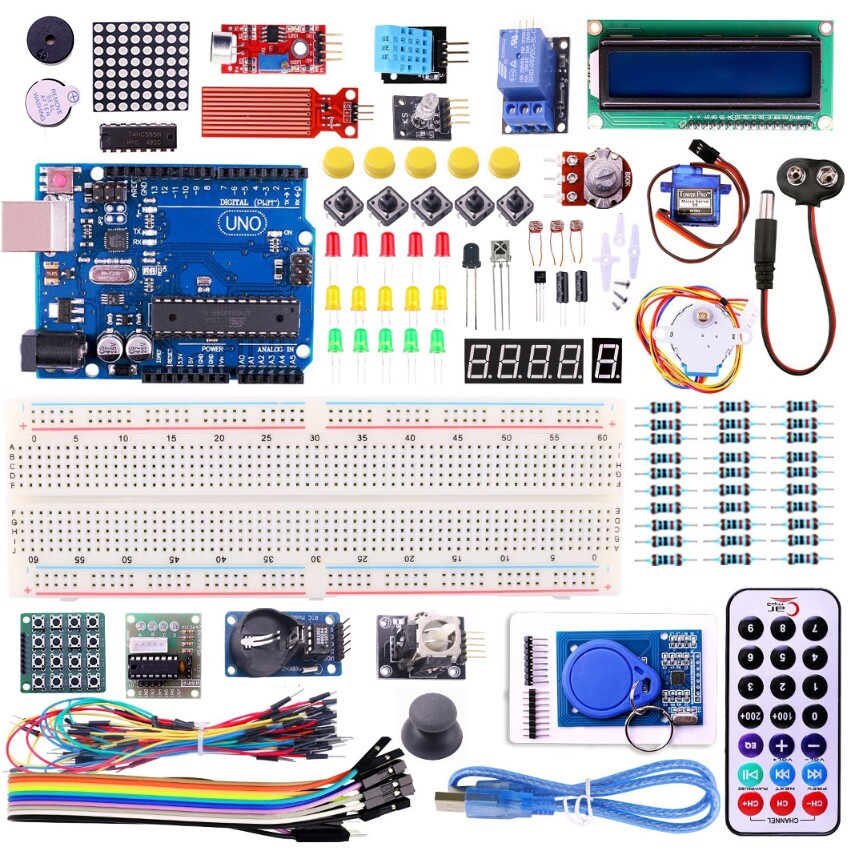 UNO R3 KIT Upgraded version for font b Arduino b font Starter Kit RFID Learn Suite