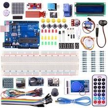 UNO R3 KIT version Améliorée pour Arduino Starter Kit RFID Apprendre Suite Stepper Motor + ULN2003 Livraison Gratuite 1 set