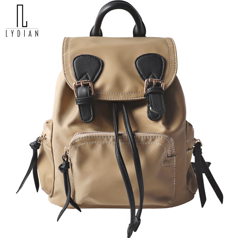 LYDIAN 2018 Fashion Candy Women Backpack Vintage Backpack School Bag Oxford Travel Bag Large Capacity Travel Backpack Button Bag best sellers canvas backpack classic fashion women s small fresh school bag travel bags large capacity travel backpack bag