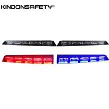 Светодиодный козырек на лобовое стекло, светодиодный советник по трафику, направленный световой, автомобильное предупреждающее освещение, линейный светодиодный s, красные, голубые