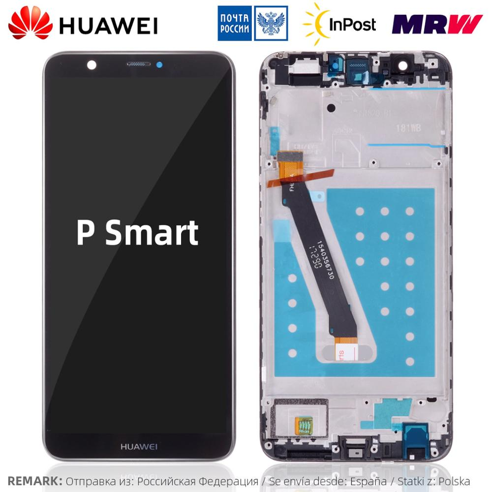 Huawei Touch Screen With Frame Display Replacement For Huawei P Smart LCD FIG LX1 LX3