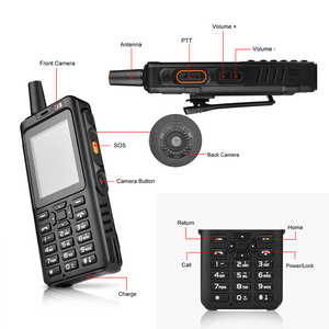 Image 3 - 4G Telefon Radio 4G LTE POC Telefono 7S Walkie Talkie Android 6,0 Zello PTT GPS Radio Mobile terminal Dual SIM Fm Transceiver