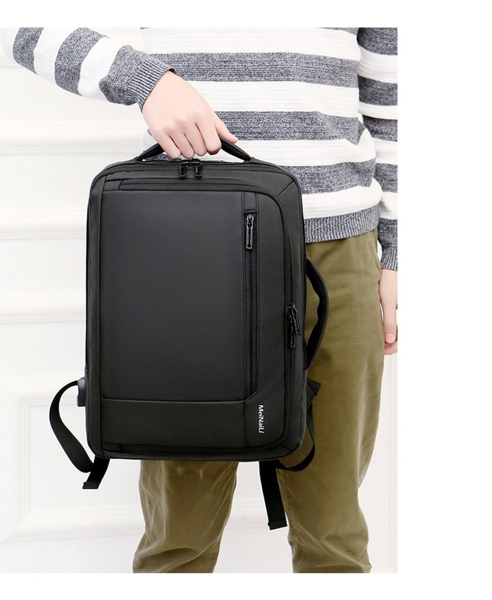 13 Multifunction USB Backpack Man Bag 15.6inch Laptop Backpacks Travel Bags Large Capacity Luggage Backpacking Waterproof Notebook
