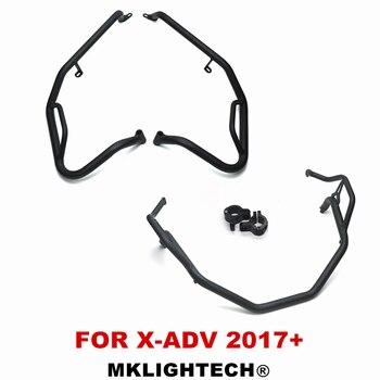 MKLIGHTECH краш-бары шоссе бары двигатель капот трюк клетка для HONDA X-ADV X ADV XADV 750 2017-2018 защита двигателя бамперы