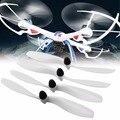 4 unids/set JJRC H16 YiZhan 58010-a Tarantula X6 RC Quadcopter recambios Propeller Drone cuchillas