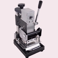 220V 110V Manual Hot Foil Stamping Machine Card Tipper For ID PVC Cards
