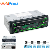 AMPrime Car Radio Stereo Player Bluetooth Phone AUX IN MP3 FM/USB/Remote Control 12V Car Audio Auto 2018 Sale New Audio Stereo