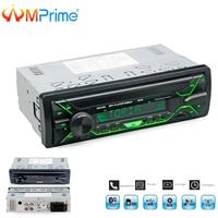 AMPrime Car Radio Stereo Player Bluetooth Phone AUX IN MP3 FM/USB/Remote Control 12V Car Audio Auto 2018 Sale New Audio Stereo
