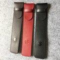 2016 new design preto marrom vermelho 3 cores do vintage lápis caneta bolsa de couro para apple para iphone7 7 mais caneta recipiente