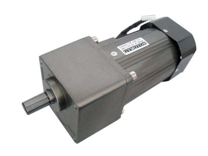 AC 220V 400W Single phase regulated speed gear motor 400W AC motor with gearbox