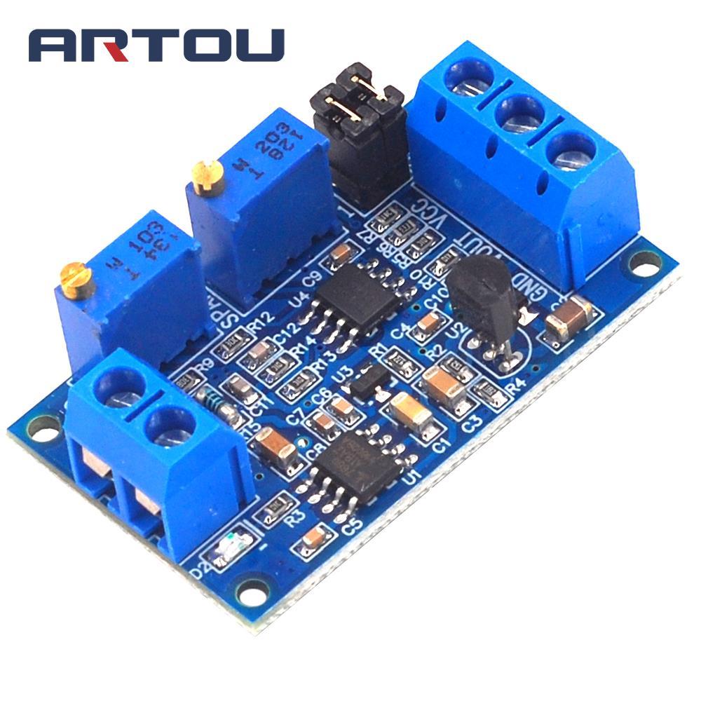 Current To Voltage Module 0 / 4-20mA To 0-3.3V 5V 10V Voltage Transmitter Signal Converter