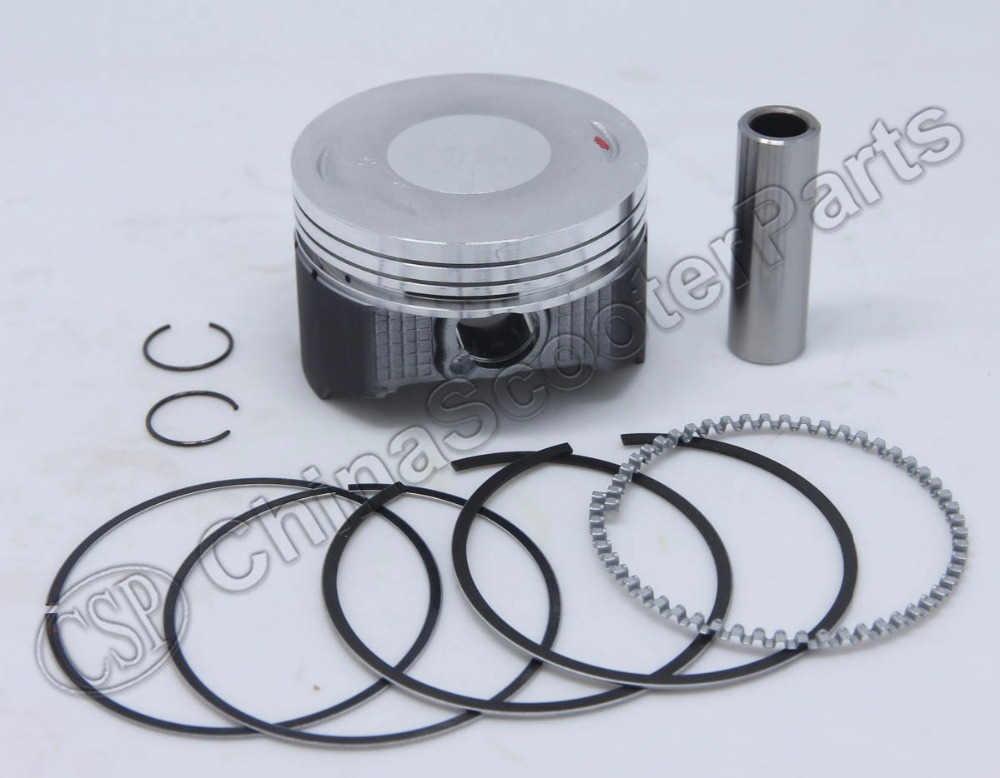 Racing Molybdenum 65.5MM 15MM Piston Ring Kit For Honda <font><b>XR</b></font> <font><b>200</b></font> XL <font><b>200</b></font> <font><b>XR</b></font> 200R 13011-446-000 13011-KT0-305 image