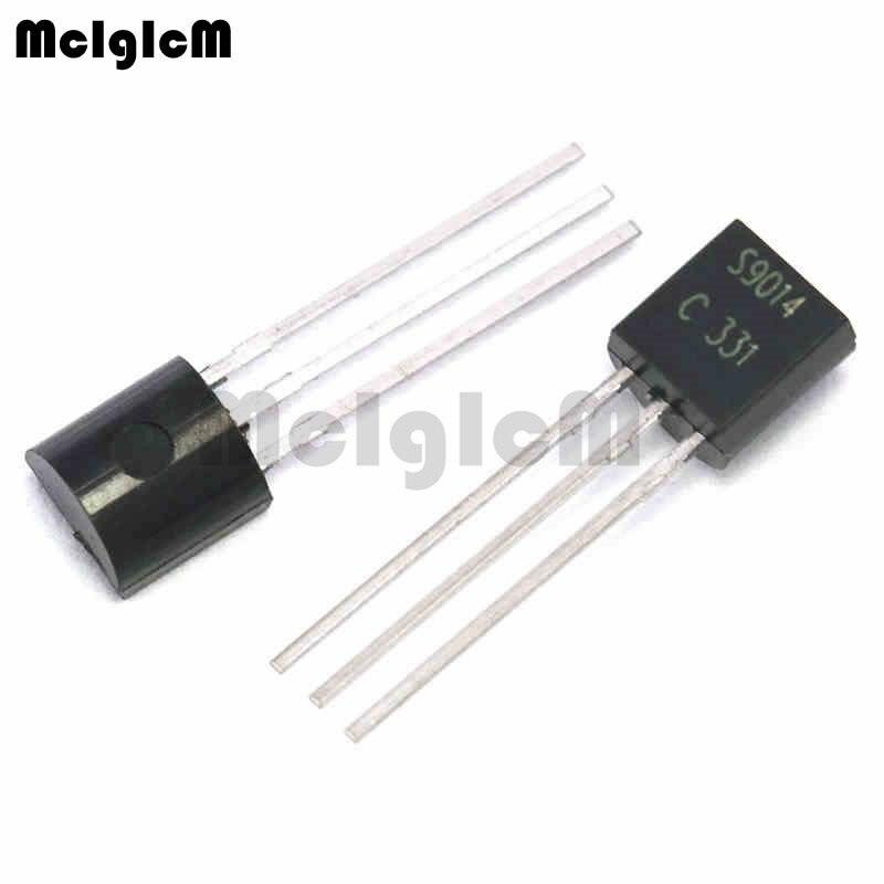 MCIGICM 5000pcs S9014 in line triode transistor TO 92 0 15A 50V NPN