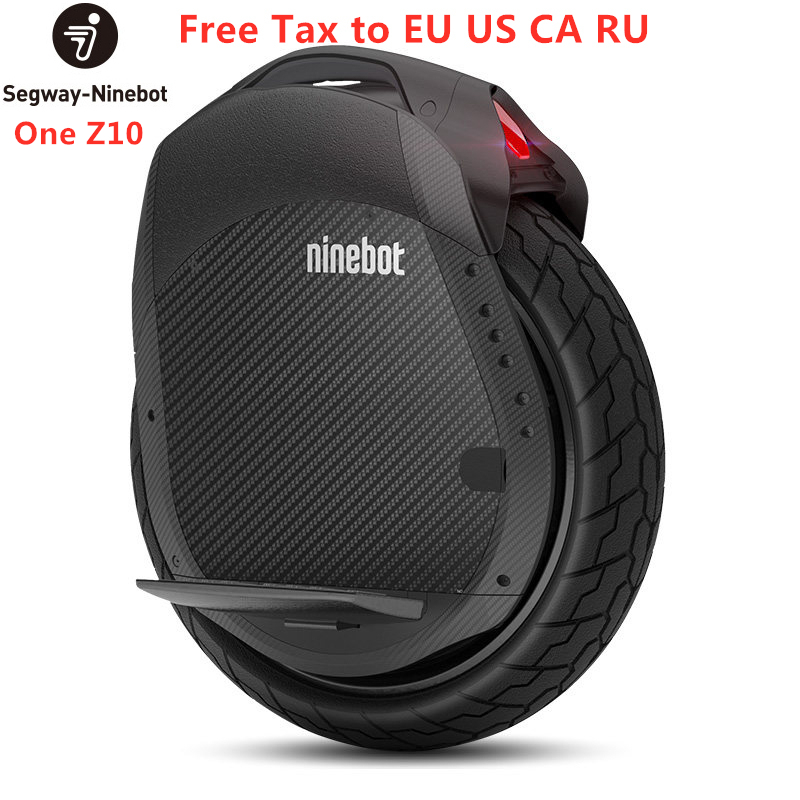 Original Ninebot One Z10 / Z6 Unicycle Smart Electric Scooter Self Balancing Motor Scooter 1800W 45km/h With Handle Hover Board