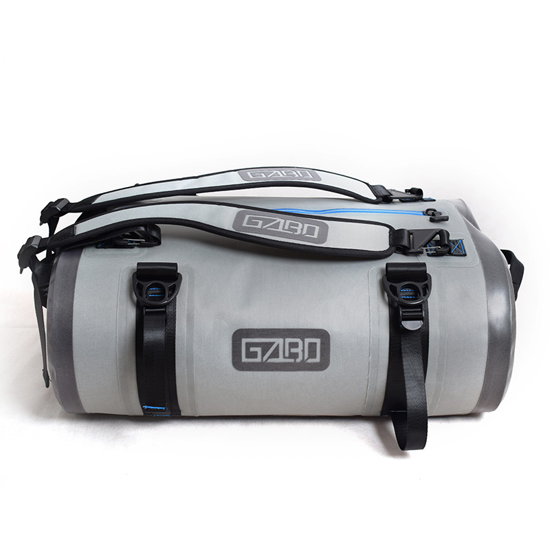 GZLBO TPU 60L Large Capacity Fancy Airtight Storm Gray travel bag Waterproof Submersible Duffel Bag