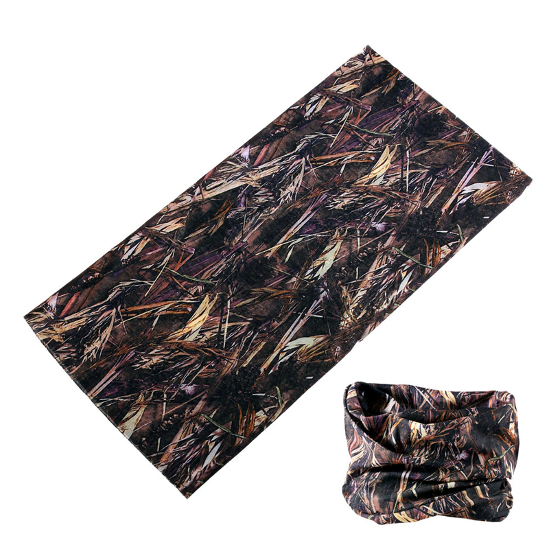Outdoor Elastic Scarf Cycling Fishing Camouflage Mesh Shemagh Military Buffe Multifunctional Tubular Headscarves Camo Kaffiyeh