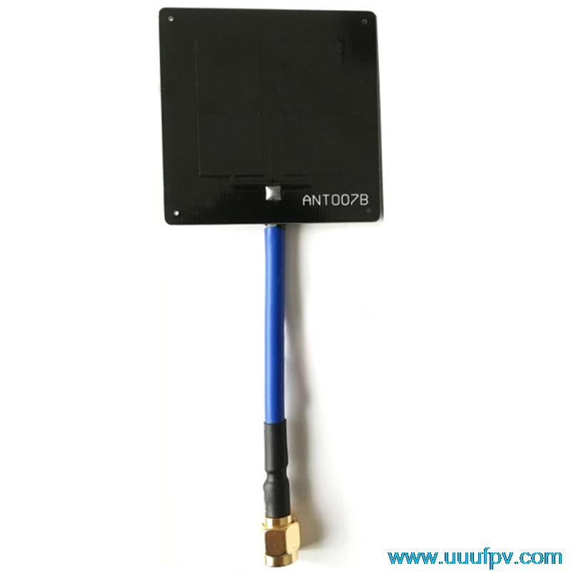 Aomway FPV 5.8G 6dB Panel Mini Enhanced Antenna  Signal Booster Increase Control for video Receiver SMA RP-SMA Drone Parts fpv antenna aomway 5 8ghz 14dbi high gain flat mini panel antenna for fpv receiver sma male rp sma female plug