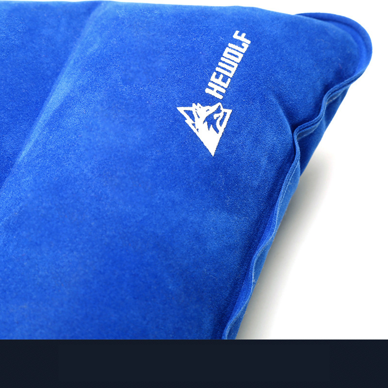 Image 5 - VILEAD Portable Camping Pillow 46*25 cm Outdoor Hiking Travel Inflatable Cushion Plane Beach Sleep Ultralight Soft Camping Mat-in Camping Pillows from Sports & Entertainment