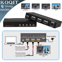 HDS-821P HDMI 2X1 Interruttore Senza Soluzione di continuità Immagine Divisione PIP POP Multi Viewer 2 Port Converter 4 Modalità HDMI Tutti Mostrano Un Display HDTV