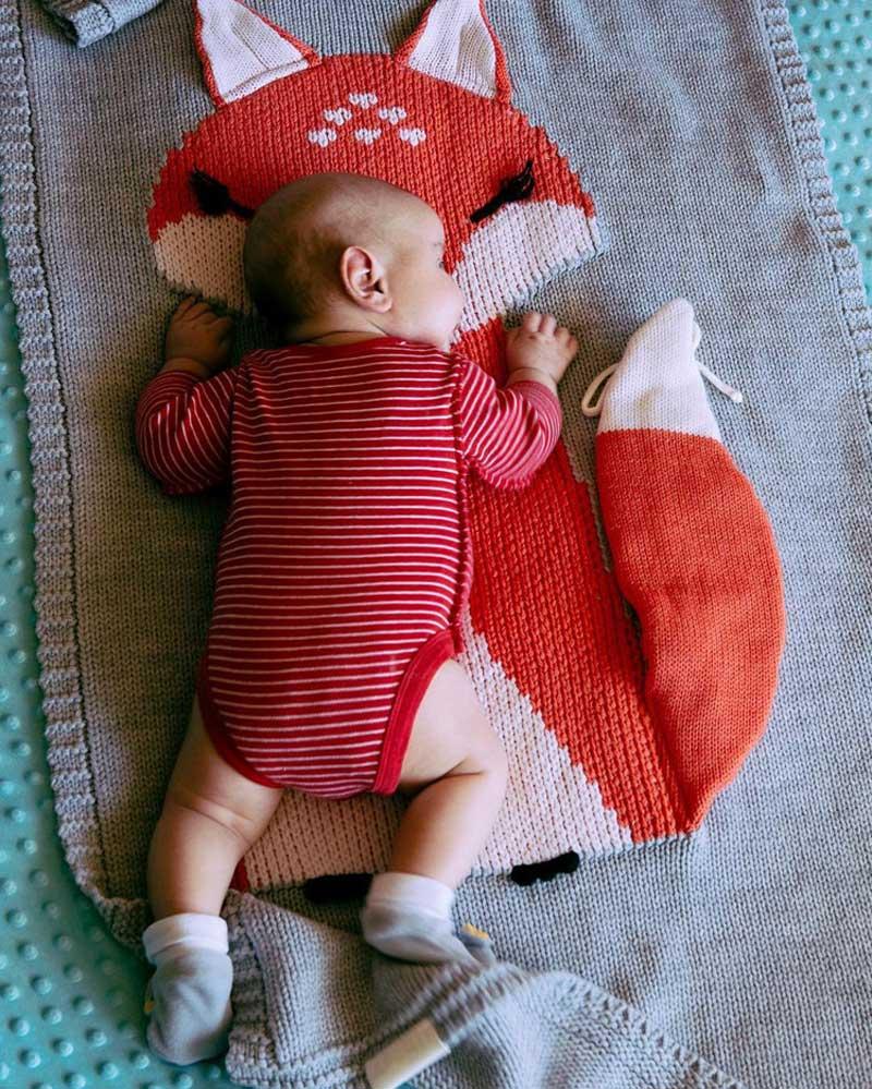 Knitting Blanket Baby (5)
