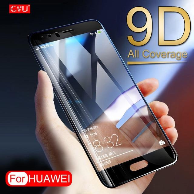 Cobertura completa Temperado Protetor de Tela de Vidro Para Huawei P8 P9 P10 Lite Plus Em Para Huawei Companheiro 8 9 10 lite 10 Pro Vidro De Proteção