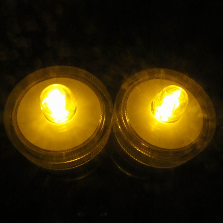 Waterproof Submersible LED Tea Light Electronic Candle Light (2)