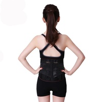 Breathable Mesh Five Steels Plate Protection Back Waist Support Belt Hot Sale Fashion Lumbar Support Brace