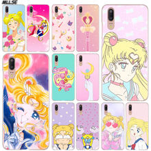 MLLSE Anime Luna de marinero de cubierta de funda transparente para Huawei P30 P20 P10 P9 P8 Lite 2017 P30 P20 Pro Mini P Smart Plus cubierta caliente(China)