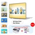 Печатные Сумка Для ноутбука Для Macbook Air 11 A1465 Air 13 A1466 боб/Кевин/Стюарт Спп Mac Pro 13 A1278 Pro 13 15 Сетчатки A1502