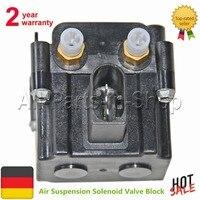 Suspension Air Supply Solenoid Valve Block For BMW 7 Series F01 F02 F03 F04 5 Series