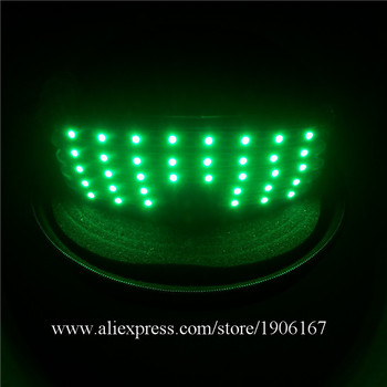 Hot Sale LED Luminous Glasses  Green Laser Man Show Glasses Stage Props Party Dancing Light Up Halloween Glasses Christmas Gift