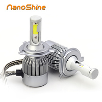 72w Car H4 Led Bulb H7 H1 H11 Hb3 9005 Hb4 9006 H4 3 High Low