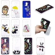 Case on Xiaomi Pocophone f1 Cover Cartoon Panda Owl Silicone Phone Case Coque for Xiaomi Poco phone f1 Xiomi Case Funda 6.18inch цена и фото