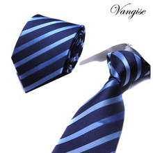 Classic Men Ties for Business Formal Wedding Necktie 8cm Stripe Dots Neck Tie Fashion Suits Neckwear Jacquard