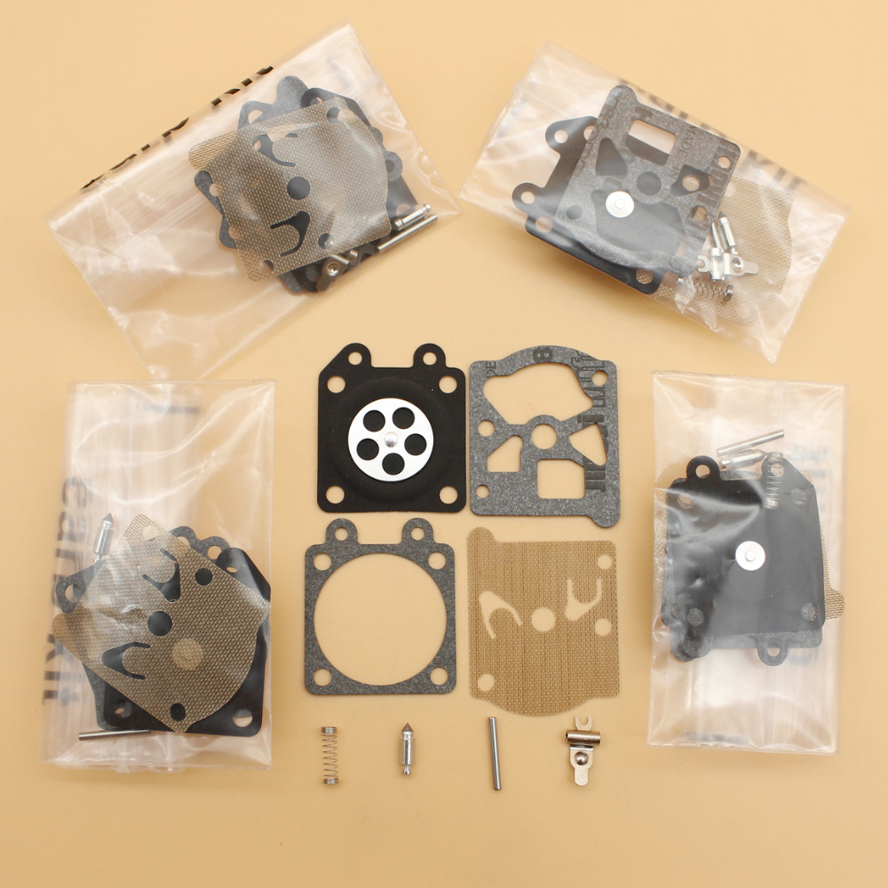 5Pcs/lot Carburetor Diaphragm Repair Kit For Partner 350 351 370 371 420 STIHL MS210 MS230 MS250 021 023 025 Walbro Carb