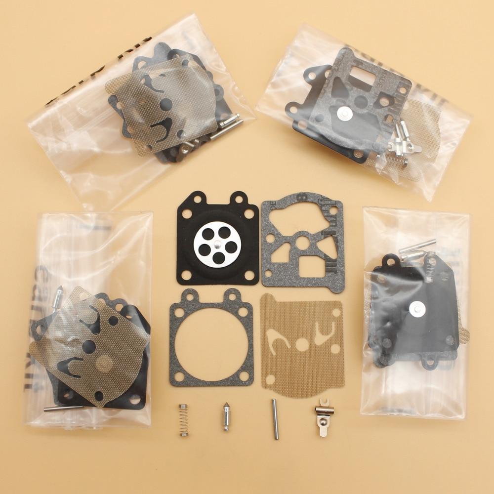 5Pcs/lot Carburetor Diaphragm Repair Kit For Partner 350 351 370 371 420 STIHL MS210 MS230 MS250 021 023 025 Walbro Carb