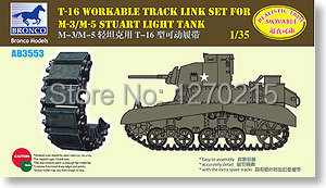 Bronco 1/35 AB3553 M3/M5 Stuart T-16 Workable Track Link