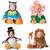 Roupa dos miúdos Velo Conjunto Romper Do Bebê Das Meninas Dos Meninos Macacão Macacões 2015 Inverno Animais Cosplay Formas Halloween Costume de Natal