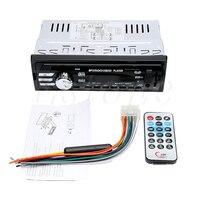 DC 12V Car USB SD 1 DIN Bluetooth Audio Receiver In Dash FM Aux MP3 Stereo