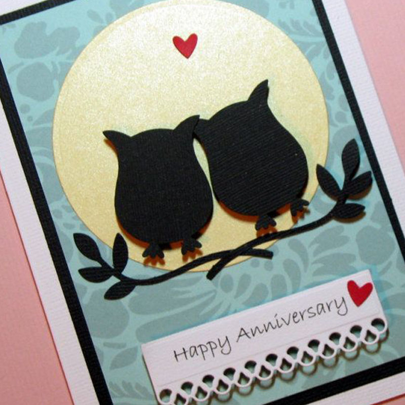Lovely Penguin Shape Scrapbooking DIY Sharp Cutting Dies Photo Album Card TO