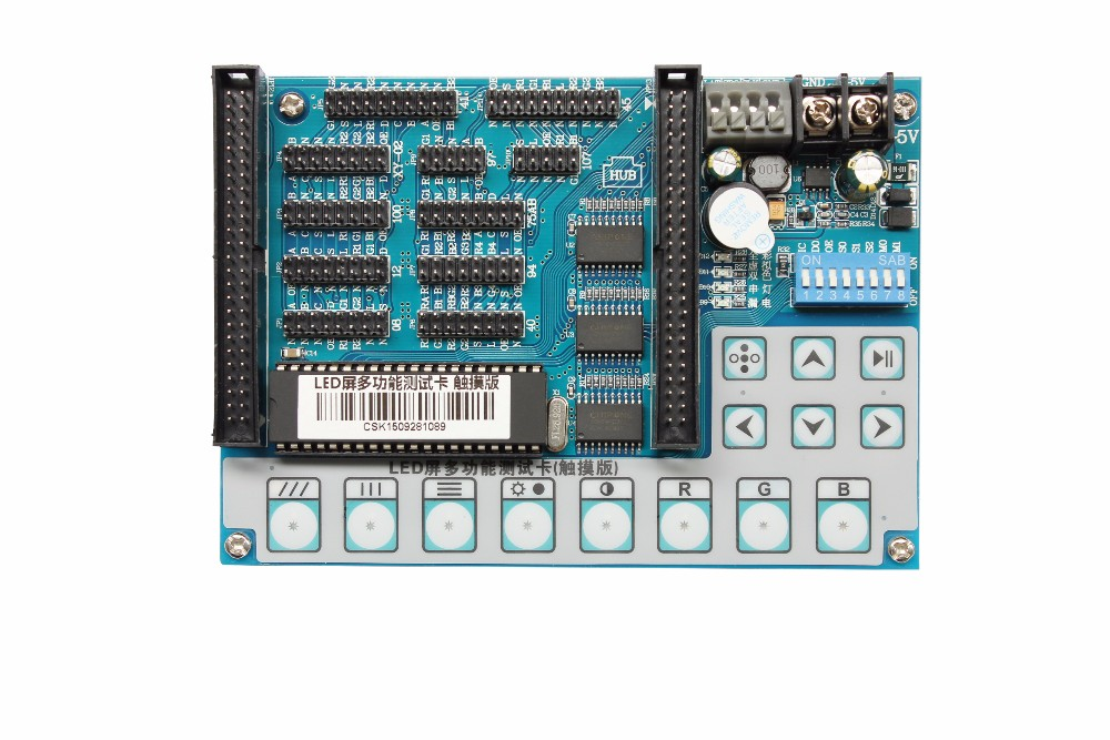 Amoonsky led unit module testing card for led display repair and test card AMS-V5 easy use simple operation