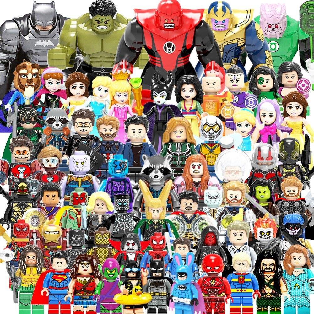 Toys & Hobbies Blocks Objective Spiderman Legoing Marvel Super Heroes Figures Spider Man Building Blocks Movies Bricks Legoingly Children Birthday Toys Gifts
