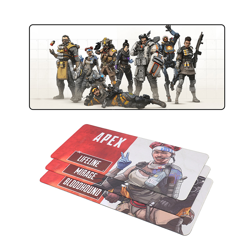 700x300mm large size <font><b>mouse</b></font> <font><b>pad</b></font> gaming l <font><b>xl</b></font> game mousepad gamer for apex legend muismat pc table mat speed overlocke image