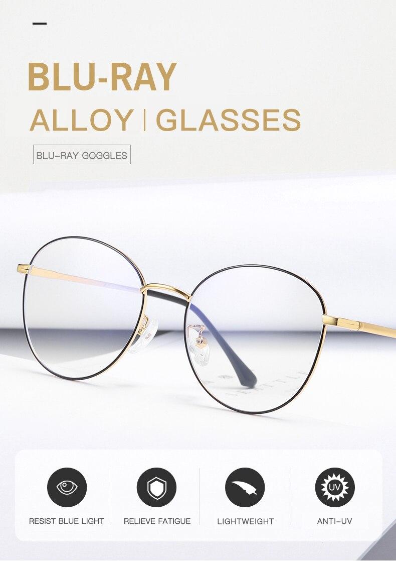 Óculos Mulheres Homens óculos de computador Anti Radiação de Luz Azul Pontos  para o Trabalho Do Computador de Jogos Em Casa Nerd Eye Proteger de Raios 8d3b6f8d98