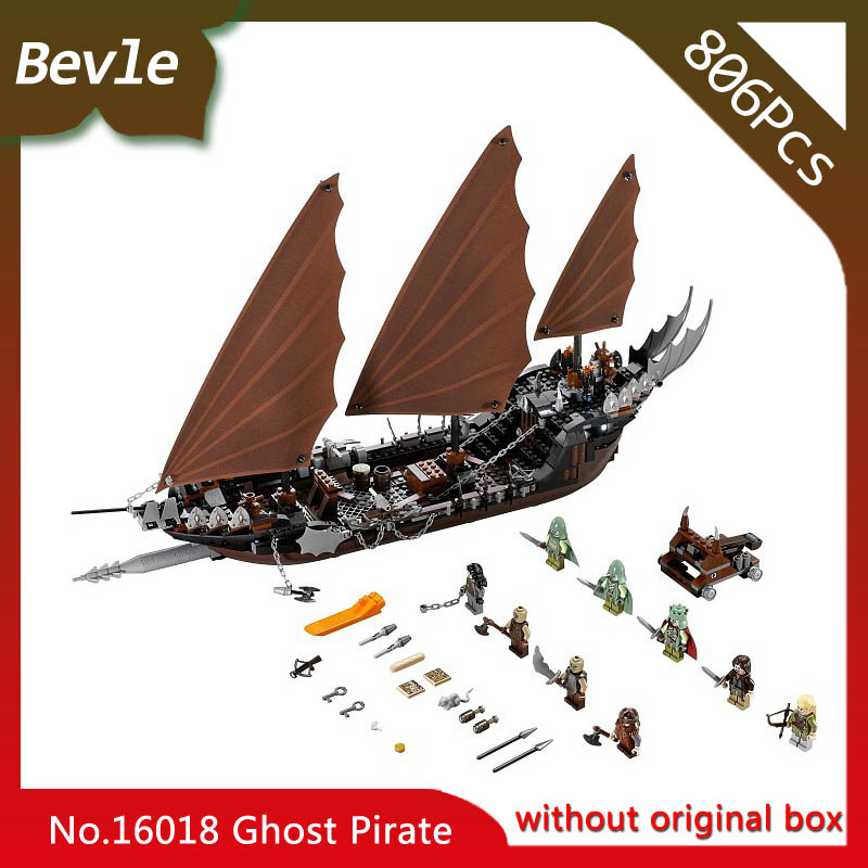 Bevle Store LEPIN Movie series Ghost pirate ship 16018 756Pcs Building Blocks set Bricks For Children Toys 79008 Boy's Gift lepin 16018 756pcs genuine the lord of rings series the ghost pirate ship set building block brick toys compatible legoed 79008