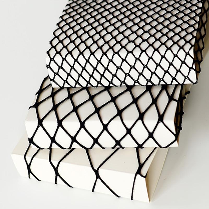 Lot Women Sexy Grid Summer Socks Three Types Short Fishnet